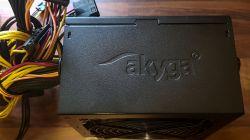 Test zasilacza Akyga Ultimate AK-U4-500 (500W, 80+ Bronze)