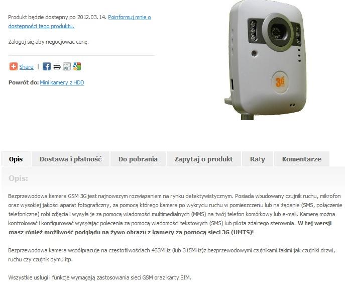 Mini aparat z funkcj� MMS?