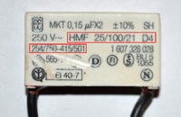 Kondensator - identyfikacja