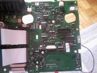 Actros - Uszkodzony tachograf VDO cyfrowy.