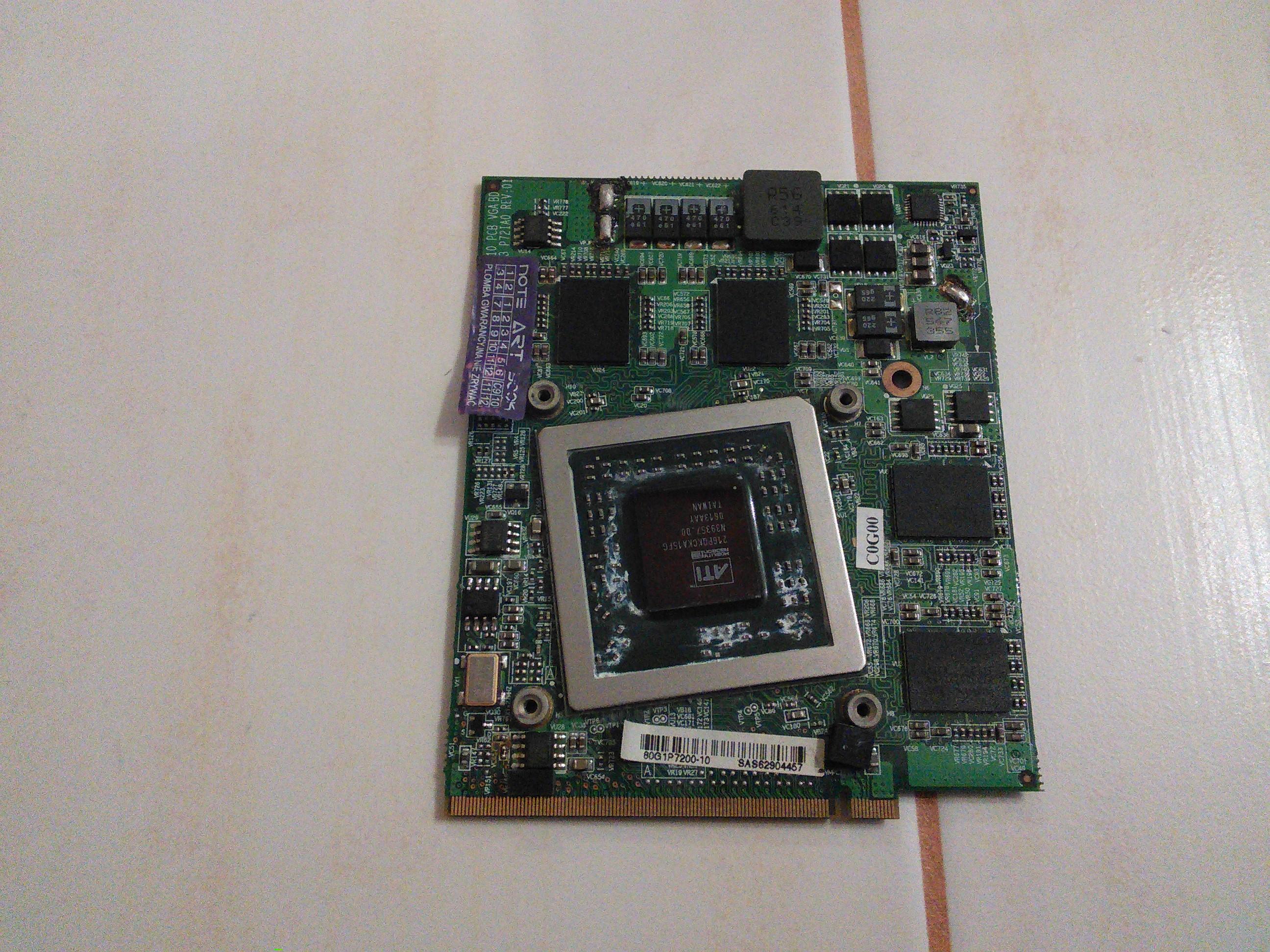 [Sprzedam] ATI Mobility Radeon X1800 do laptopa