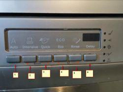 Zmywarka Electrolux ESF 66070 XR - nie wyłącza się, buczy dalej wyłączona