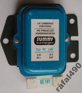C 385 - podłączenie alternatora i kontrolki ładowania