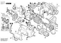 Wiertarka Bosch psb 650 re - iskrzenie na komutatorze