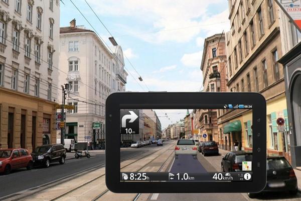Pod��aj za wirtualnym samochodem - AR w mapach Route 66