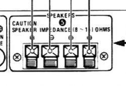 JVC A-K22 - kanały na głośniki nie działają.