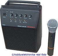 Jak przestroić mikrofon bezprzewodowy ze wzmacniaczem WA-320/VXM-286TS