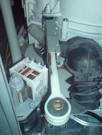 Pralka Siemens - WXSP 1240 PL - zepsuty teleskop, jak rozkręcić obudowę?