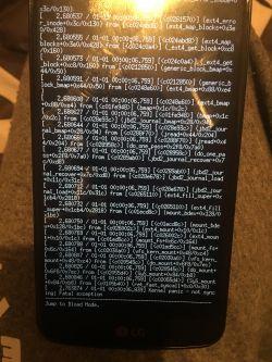 LG k10 k420n - Nie mogę wgrać oprogramowania