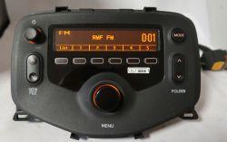 Toyota Aygo II 2016 - wymiana radia