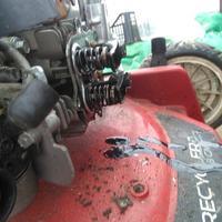 Kosiarka Toro recykler 20783 ,kosiarka nie odpala, przy rozruchu chce urwać ręke