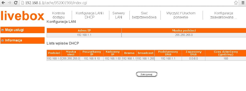 Tonze AW-6200R / Edimax 7206APg - Podzia� neostrady LAN->WLAN