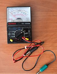 KAGER 56Ah i SUNWA - Pomiar akumulatora