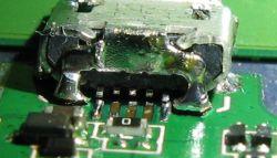 Tablet Goclever Aries 101 - wymiana gniazda mini USB