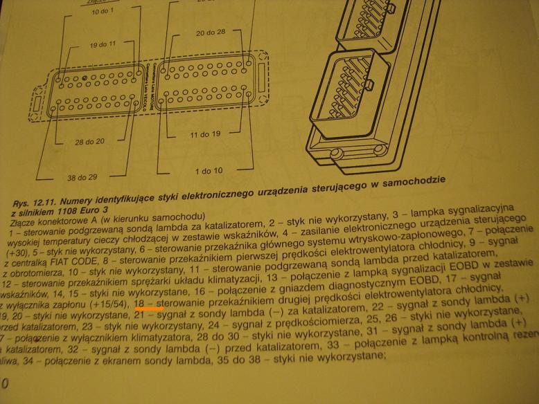 Fiat Seicento 1.1 MPI 2003 nie za��cza mi si� wiatrak