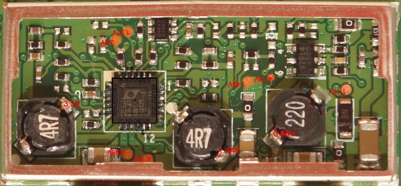XXL IQ Routes/530S/540S - 2GB  - Po wymianie 3455 nie uruchamia si� Green LED