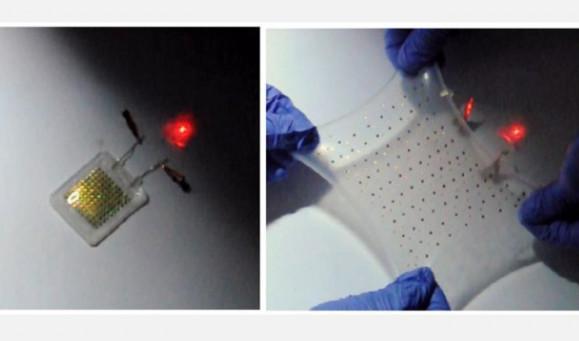 Niezwykle rozci�gliwy, bezprzewodowo �adowany akumulator Li-ion