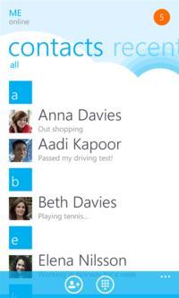Skype dla Windows Phone w wersji beta dostępny do pobrania