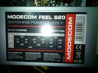 Modecom feel 620 - Zasilacz Modecom Feel 620W startuje, czasem..