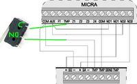 Satel/Micra - Mikrowłączniki obudowy Satel Micra