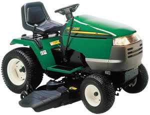 Traktorek Verts Loisirs model VLG T20 H122A - paski, przygotowanie do sezonu
