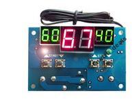 Satel integra + pomiar temperatury i sterowanie grzejnikami