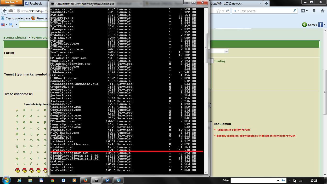 ASPIRE 5732ZG - Duże zużycie CPU Windows 7