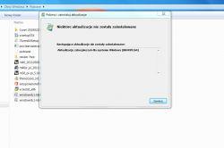 windows 7 błąd przy aktualizacji a konkretnie instalacja 2019-05 comiesięczny pa