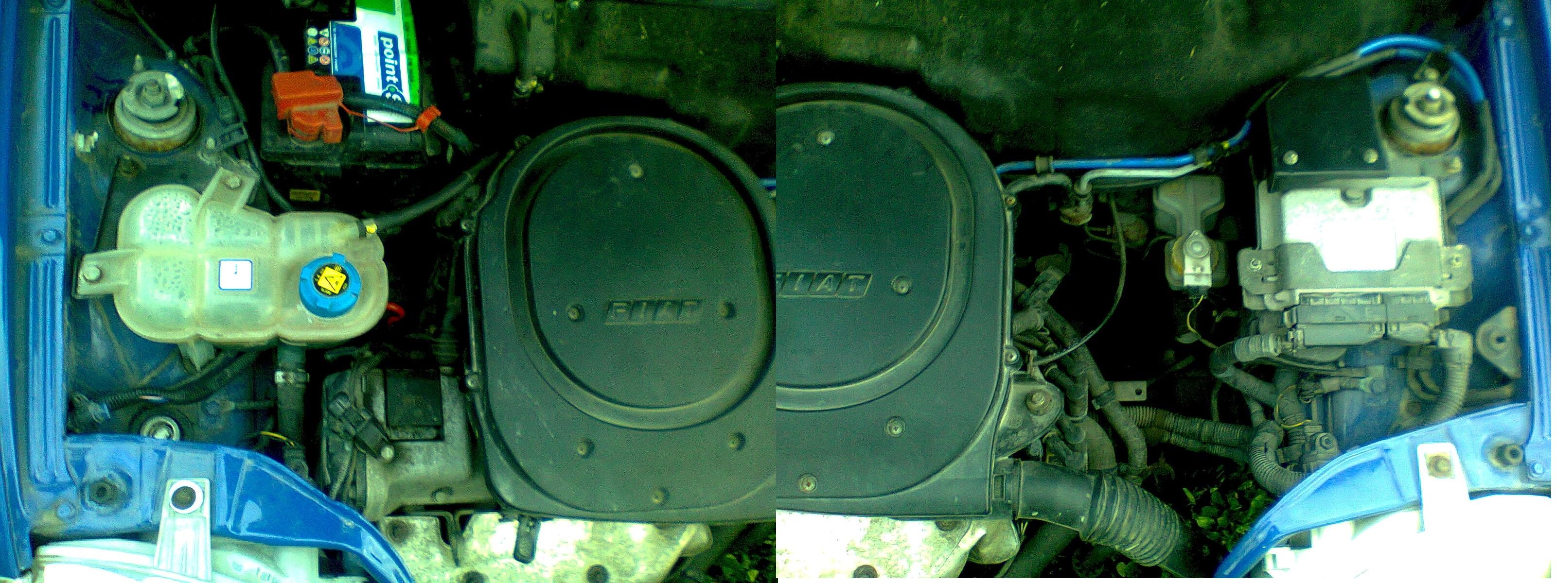 seicento 1.1 MPI - Czujnik temperatury silnika
