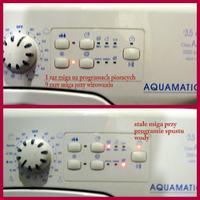Pralka Candy Aqua 100F maksymalne obroty wirowania