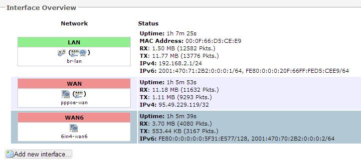 OpenWrt 10.03.1  - + tp-link w trybie bridge - nie dzia�a ~po�owa stron www