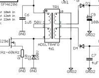 Flyback1 czyli prosta przetwornica napięcia na transformatorze ADSL