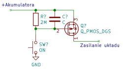 Wskaźnik naładowania akumulatora Li-Ion 1S.