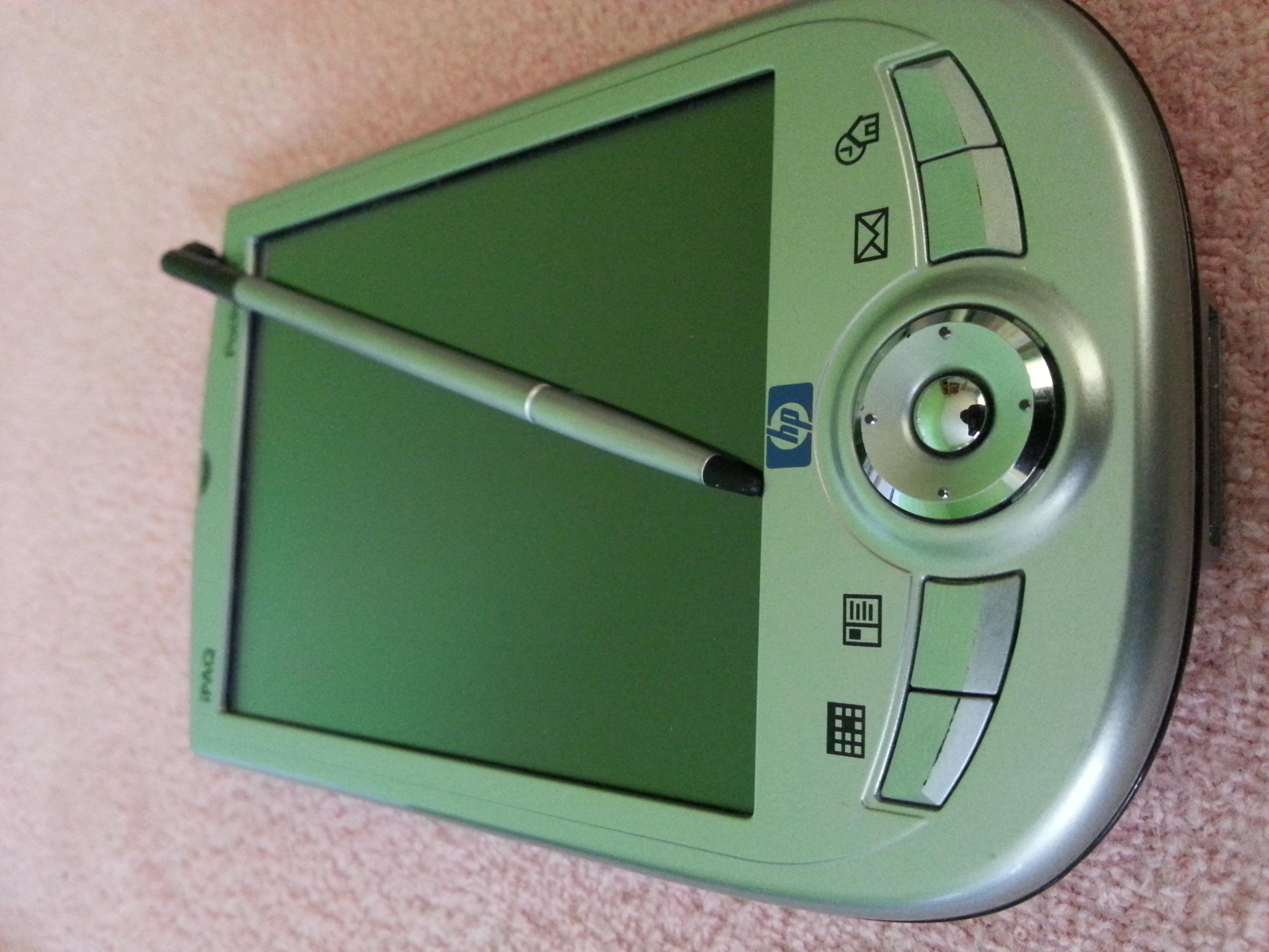 [Sprzedam] PDA z odbiornikiem GPS HP IPAQ h1940