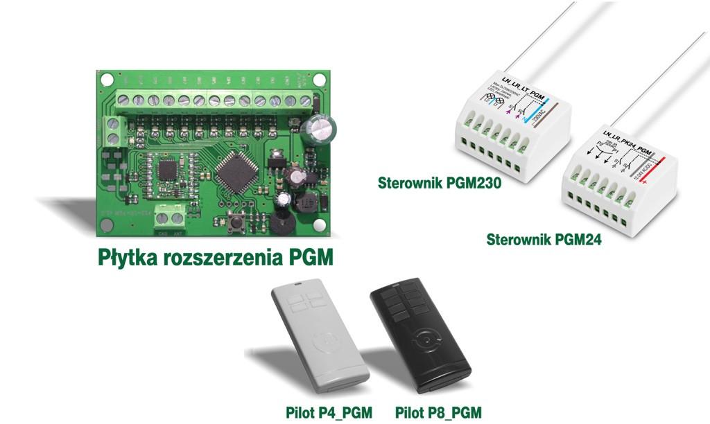Radiowy - modulacja LoRa - PGM centrali alarmowej - zasięg nawet 1km
