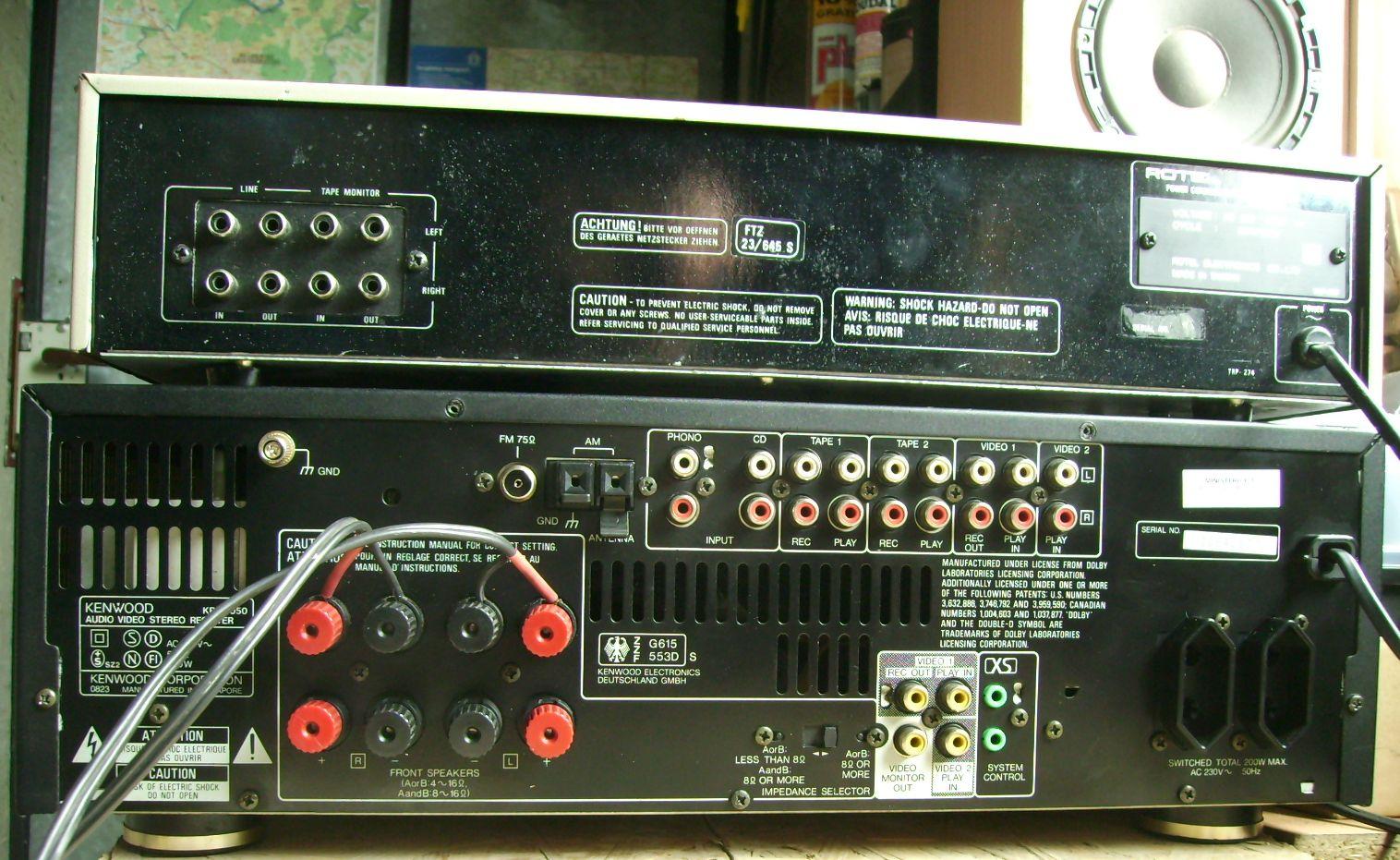 korektor do amplitunera - jak pod��czy� korektor do amplitunera z tape monitor?
