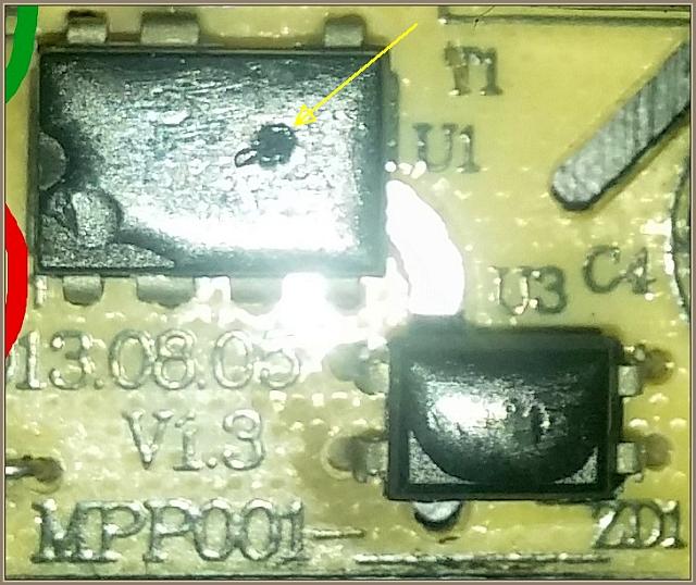 Mikrofalówka SilverCrest SMW900 - uszkodzony zasilacz elektroniki