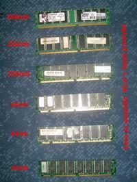 [Sprzedam] Pami�ci RAM - r�ne rodzaje - tanio