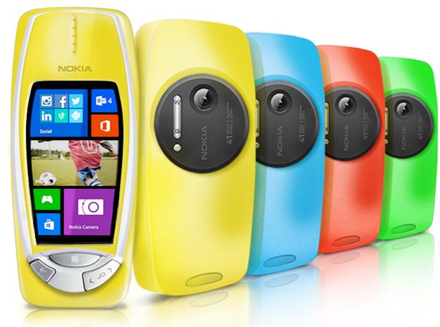 Nokia 3310 po 14 latach ponownie w sprzeda�y z aparatem 41Mpix?
