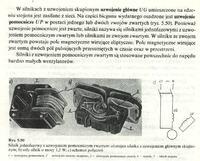 Silnik indukcyjny jednofazowy z uzwojeniem pomocniczym zwartym - zmiana kierunku