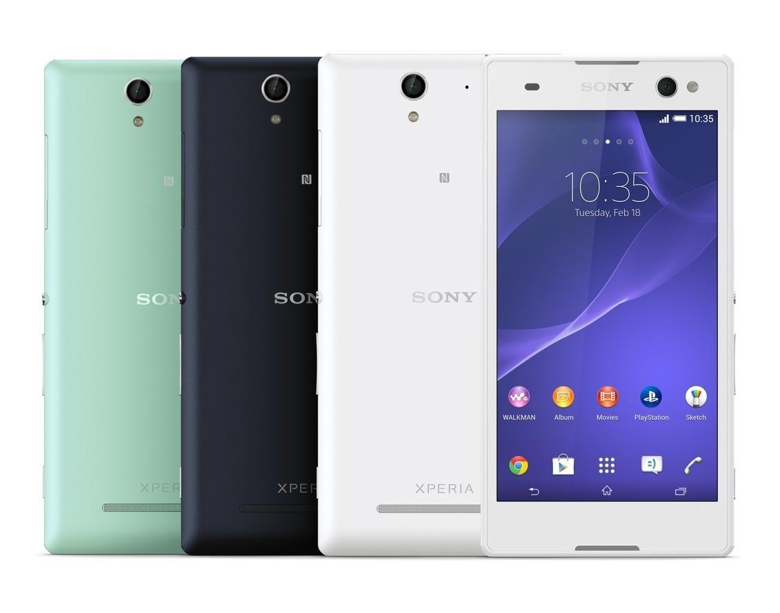 Sony Xperia C3 - 5.5-calowy smartfon skonstruowany z my�l� o selfie.