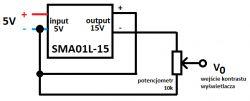 Zegar. Kalendarz. Stacja pogodowa. Wyświetlacz T6963 + ESP8266, bez Arduino nano