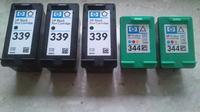 [Sprzedam] Kartrid�e HP kolor i czarny 344 339 na gwarancji