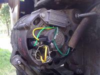 TV-521 - Podłączenie alternatora i regulatora Elmot