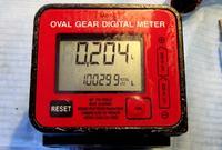 Licznik K600 - elektroniczny - przepływu cieczy - złe naliczanie