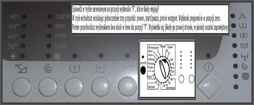 Electrolux EWT1050 zatrzymuje sie w trakcie prania
