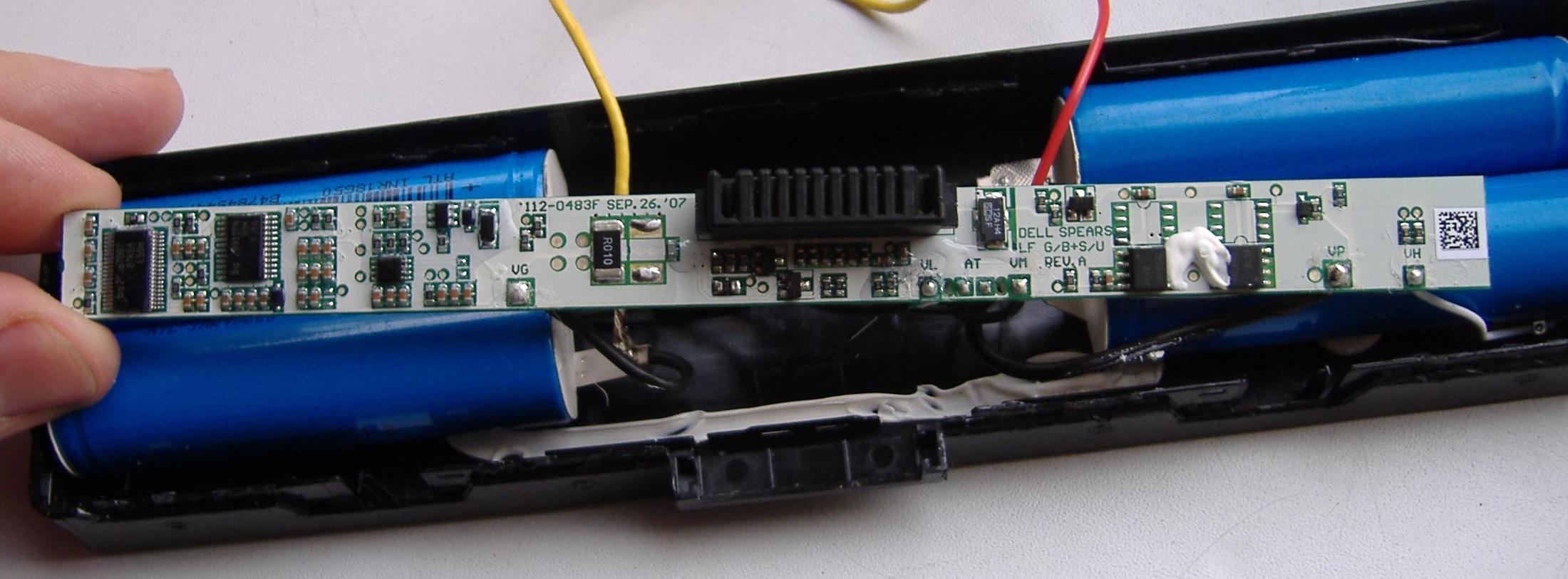 Bateria Dell GW240 (bq2085) - czy uklad posiada has�o ?