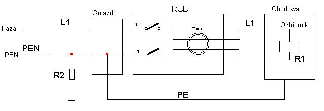 Instalacja elektryczna odbiornik�w ruchomych - przed�u�acze