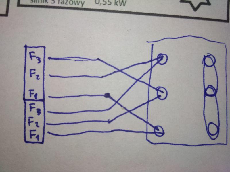 jak podłączyć silnik 220/380v od bramy ze sterownikiem