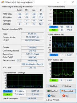 Dobór anteny LTE T-Mobile